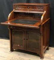 rollb�ro-louis-philippe-um-1850-1860-nussbaum-massiv-furniert-2453