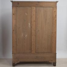 Gründerzeit-Kleiderschrank um 1890, Kiefernholz