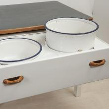 Küchen-Abwaschtisch Art Deco