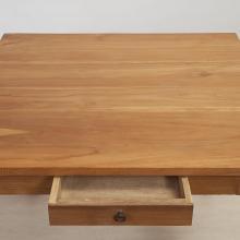 Massiver Teakholz - Tisch